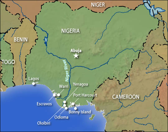 Navigating Nigeria S Muddy Landscape Npr