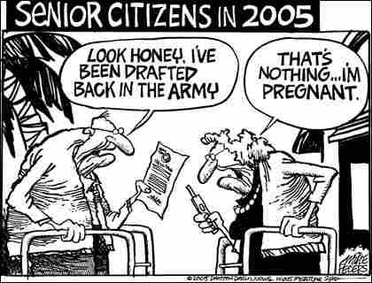 Peters-Seniors. Credit: Mike Peters, Dayton Daily News.