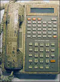 Susan Orlean's decoupage telephone.