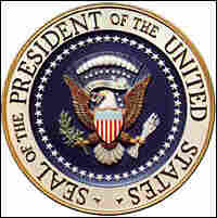 The presidential seal. Credit: White House.