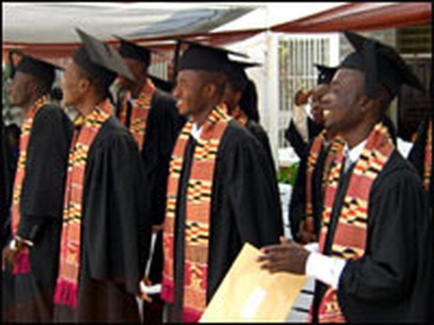 The 2005 graduating class.