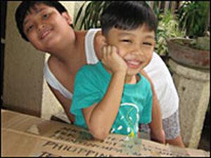Cousins Lance and Daniel Floresca