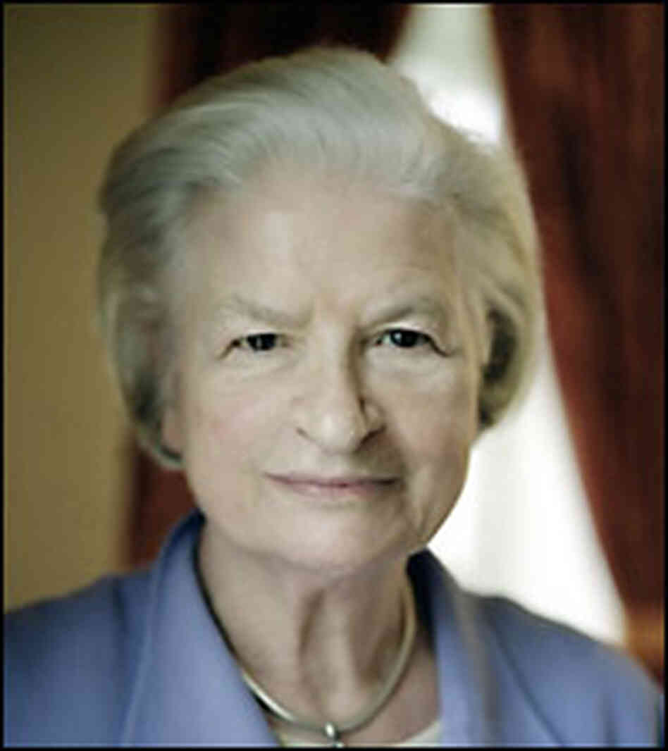 Author P.D. James. Credit: Ulla Montan-Alfred A. Knopf.