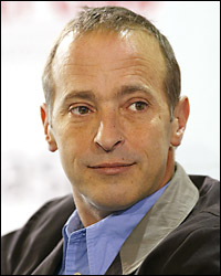 David Sedaris at the Frankfurt Book Fair in 2004. Credit: Ralph Orlowski-Getty Images.