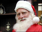 Greg Mohl as Santa Claus. Credit: Ketzel Levine, NPR.