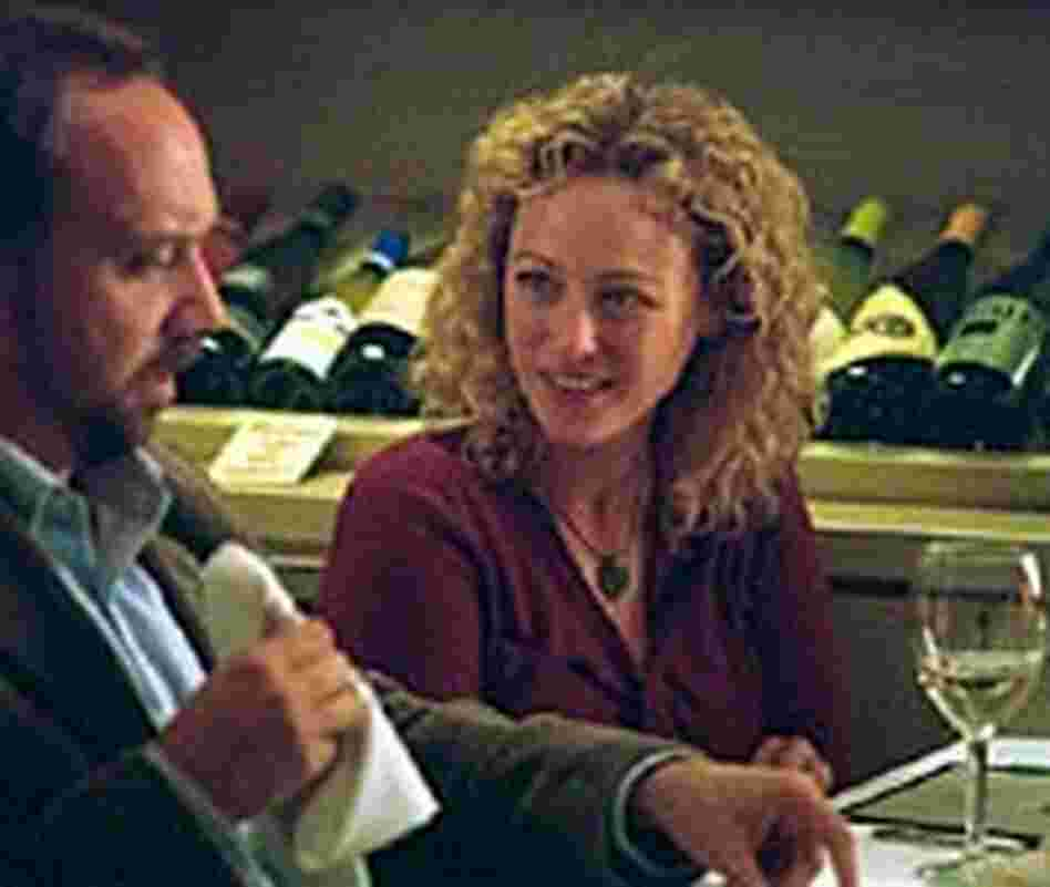 Virginia Madsen and Paul Giamatti in a scene from the Oscar-nominated 'Sideways'