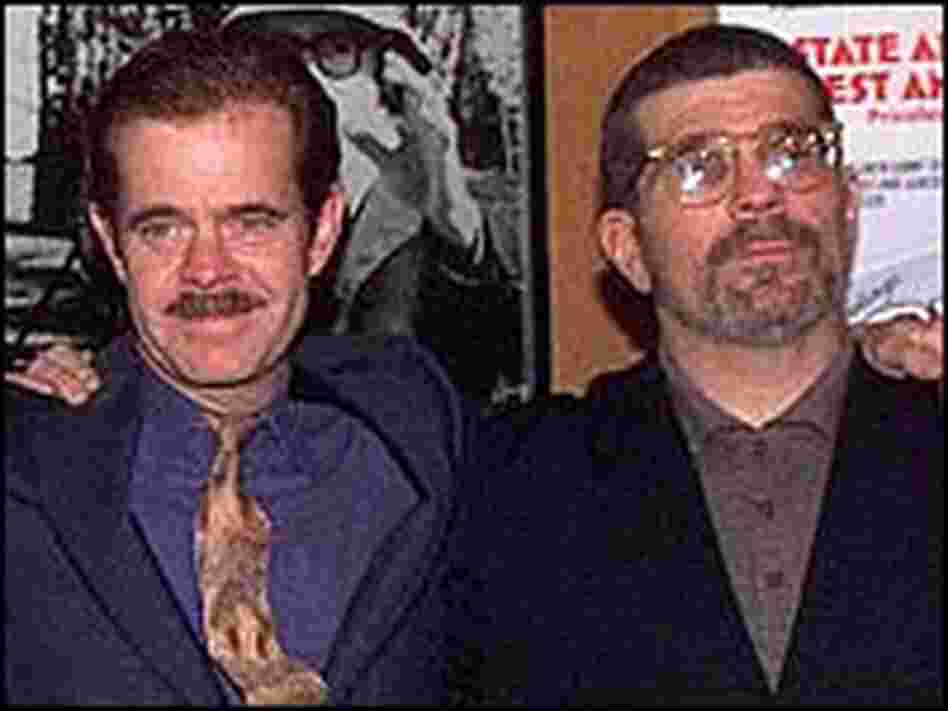 Actor William Macy, left, and writer-director David Mamet formed the Atlantic Theatre Company