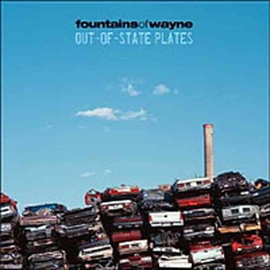 Cover for the Fountains of Wayne CD 'Out-of-State Plates'