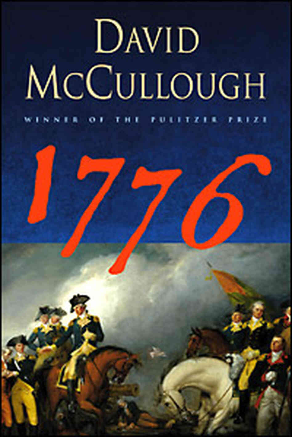 The Cover of '1776.' Credit: Simon & Schuster
