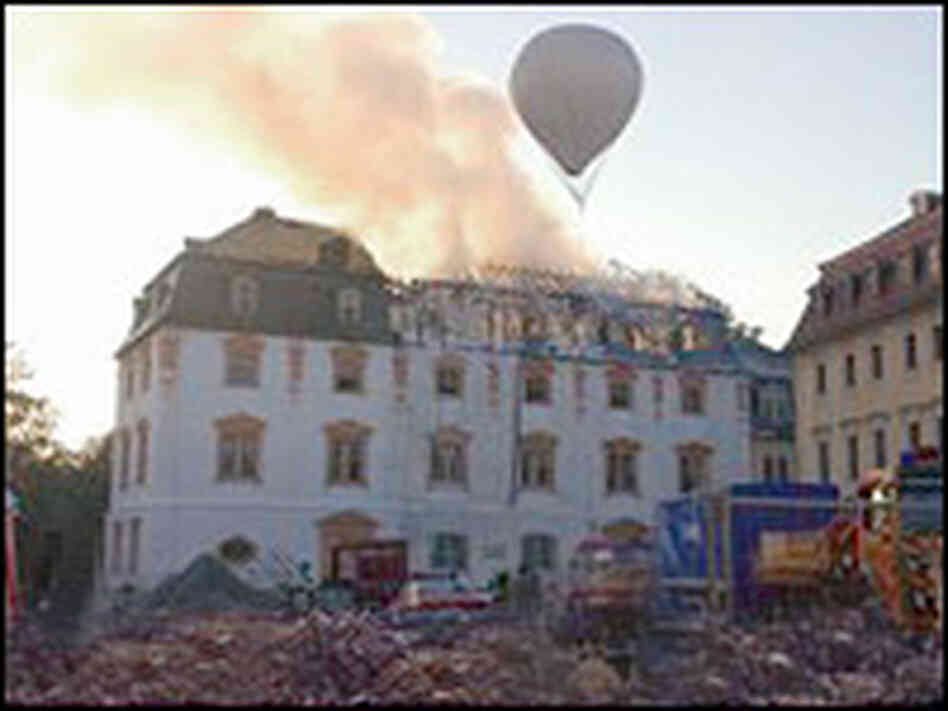 Bach's unidentified music eluded a devastating fire.