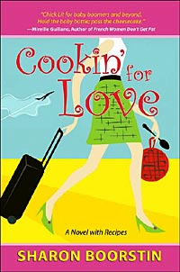 Cover for Sharon Boorstin's 'Cookin' for Love'