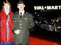 Scott and Melissa Jones spent their honeymoon at Wal-Mart