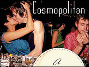 Detail from the cover of Toby Cecchini's 'Cosmopolitan'