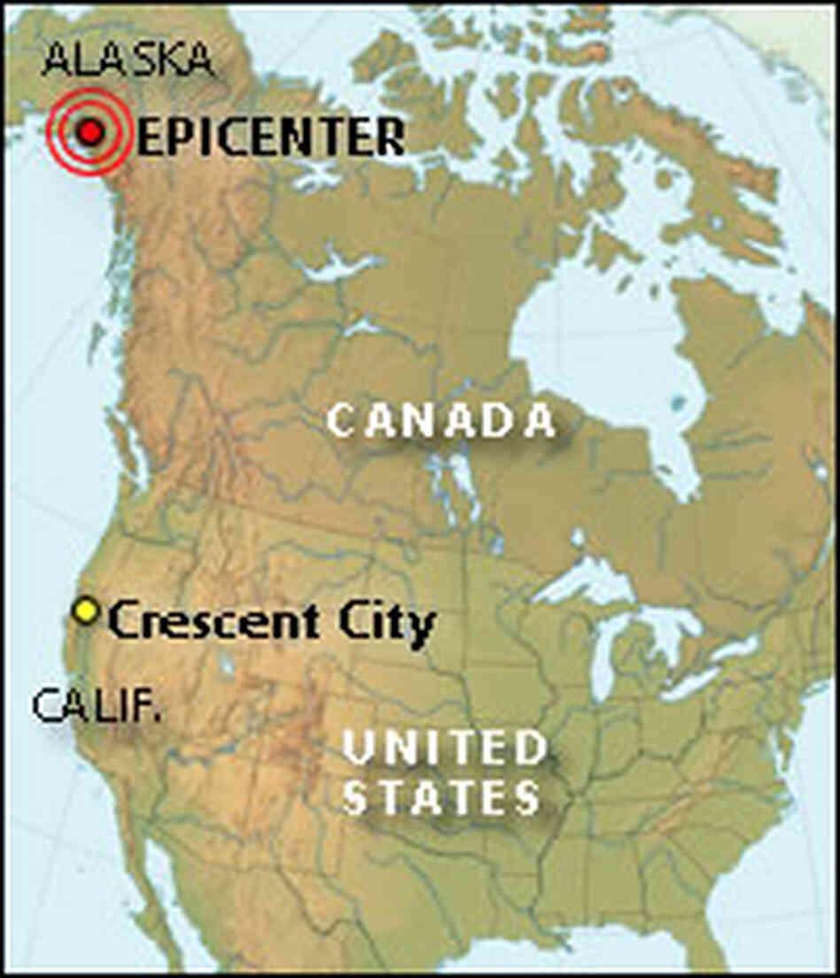 California Town Still Scarred By 1964 Tsunami Npr