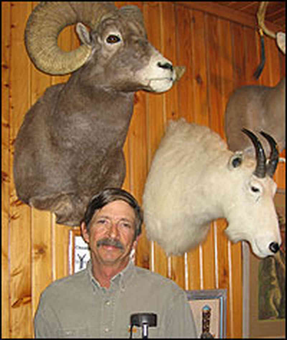 Hunting guide Joe Tilden