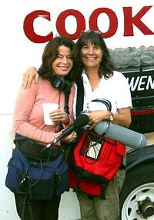 Davia Nelson, left, and Nikki Silva