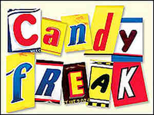 Detail from the cover of Steve Almond's book 'Candyfreak'