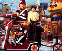 Jimmy and other H.R. Pufnstuf characters. Credit: Sid and Marty Krofft Pictures.