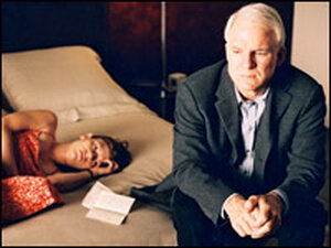 Claire Danes and Steve Martin. Credit: Sam Emerson; Touchstone Pictures.