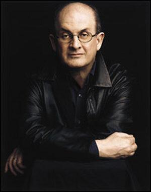 Novelist Salman Rushdie. Credit: Timothy Greenfield-Sanders.
