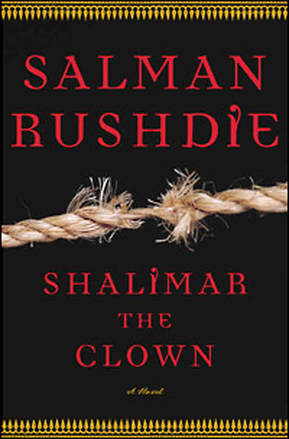 "The cover of ""Shalimar the Clown."" Courtesy of Random House, Inc."