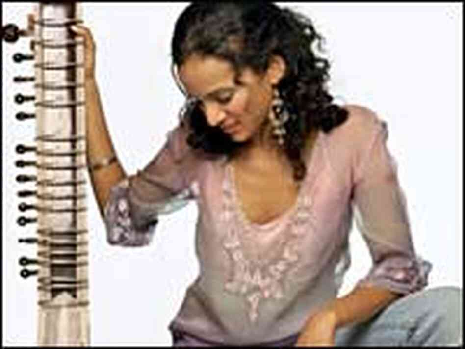 At 24, Anoushka Shankar has been touring with her father, Ravi Shankar, for a decade.