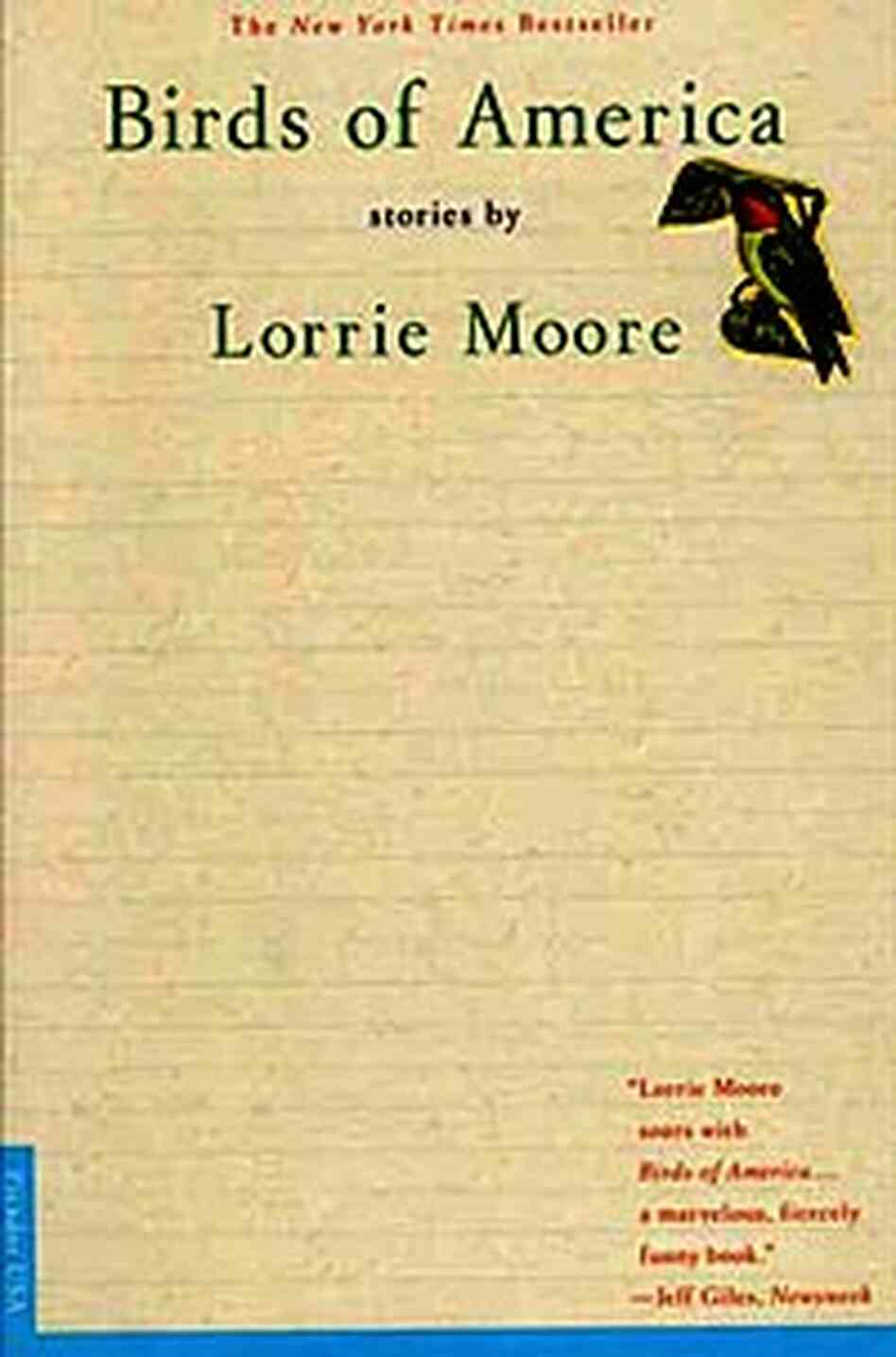 Cover of Lorrie Moore's ;Birds of America'
