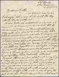 Capt. George Musson's letter