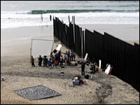 San Diego Fence Provides Lessons In Border Control Npr