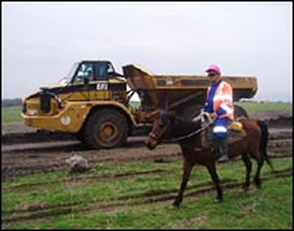 "British Petroleum has villagers ride ""horse patrols"" along the pipeline. Despite these and other security measures, criminal gangs continue the lucrative business of tapping buried pipelines and siphoning oil."