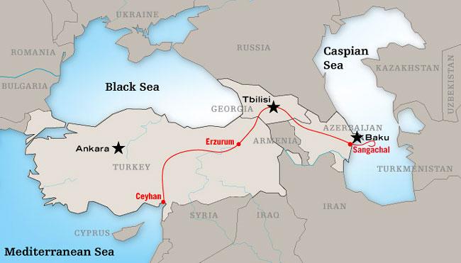 Turkish Caspian oil pipeline