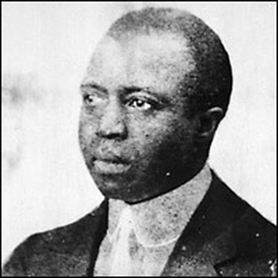 American composer and pianist Scott Joplin (1868 - 1917). Credit: MPI/Getty Images.