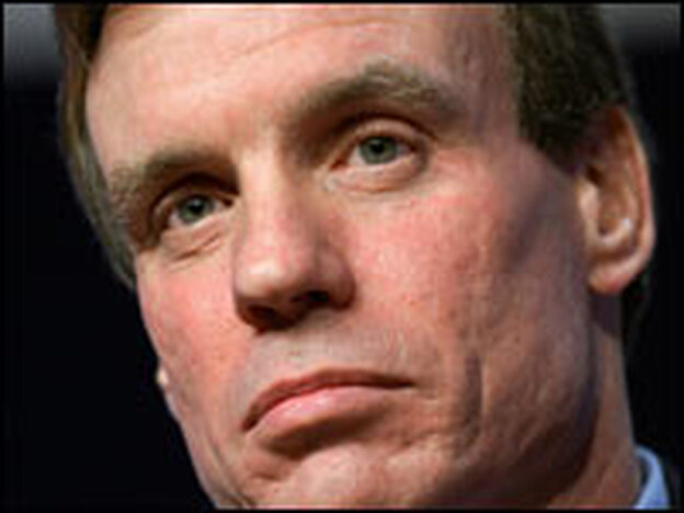 Mark Warner, at the World Economic Forum in Davos, Switzerland, Jan. 27, 2006.