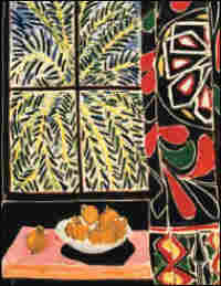 'Interior with Egyptian Curtain,' 1948, by  Henri Matisse