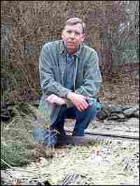 William Alexander, in his garden.