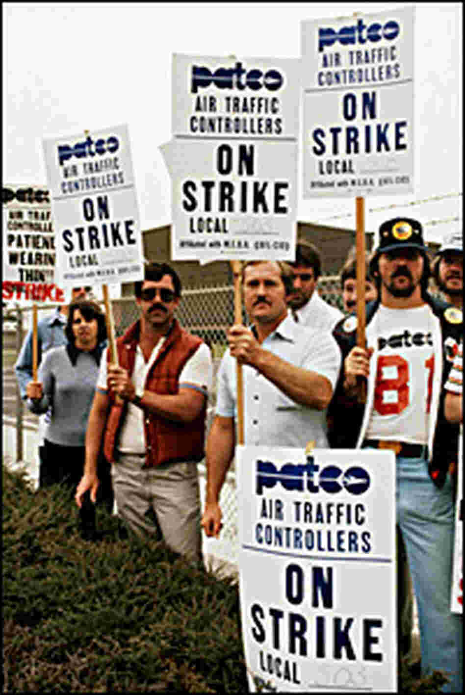 Striking Air-traffic Controllers