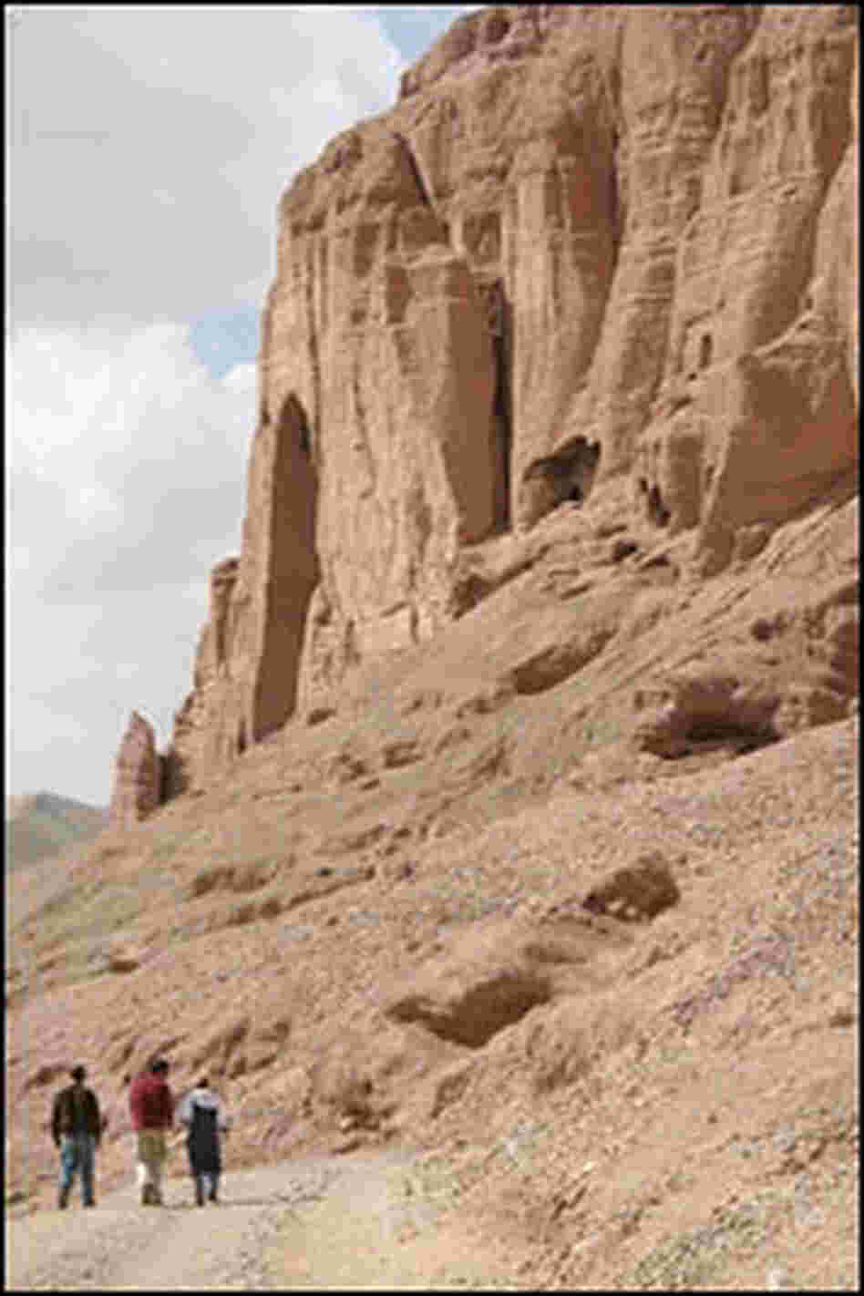 The Bamiyan cliffs