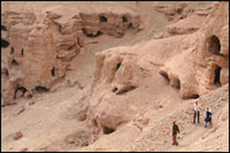 Bamiyan's Buddha cliffs hold dozens of additional sites that archeologists haven't yet had time to catalog. These caves and gullies once served as homes and gathering places for Buddhist monks.