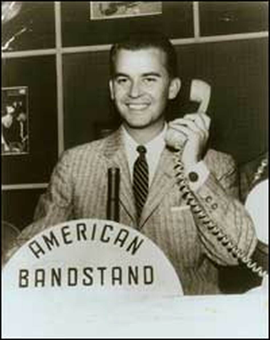 Dick Clark hosted <em>American Bandstand</em> for three decades. Among the megastars who made their network debut on the show: Madonna, Michael Jackson and Buddy Holly.