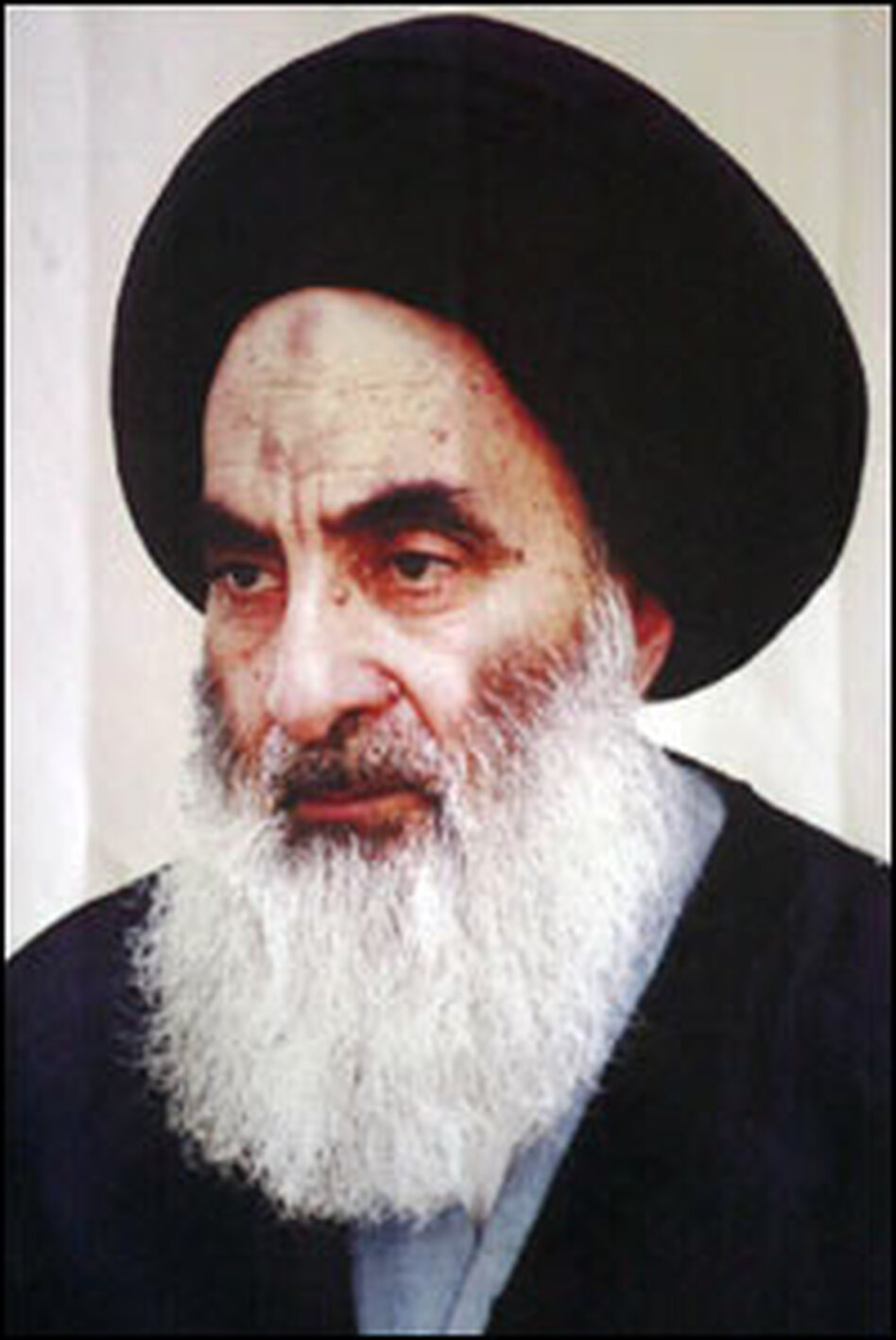 After the U.S.-led invasion in 2003, Grand Ayatollah Ali al-Sistani helped unite Iraq's competing Shiite political forces into a single bloc.