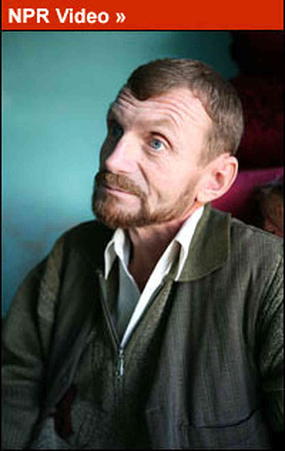 Gennady Tseuma is known in Afghanistan as Nik Mohammed.