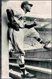 "Kansas City Monarchs first baseman John ""Buck"" O'Neil. Credit: Negro Leagues Baseball Museum."