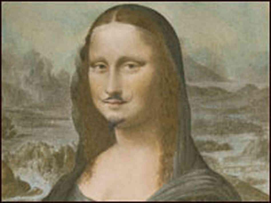 Dada on Display at the National Gallery of Art : NPR Dadaism Mona Lisa