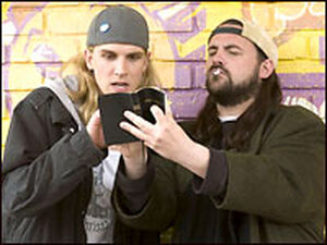 Jason Mewes (left) and Kevin Smith as Jay and Silent Bob. Credit: The Weinstein Company.