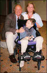 Marcus Kerner, his wife Joanna Kerner and their 6-year-old son, Daniel.