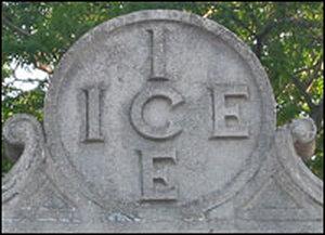 Abandoned icehouse