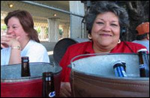 Shirley Vidal at Sanchez's Ice House