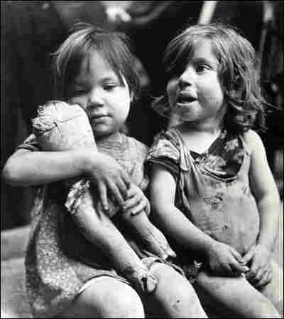 'Children Playing with a Broken Doll'