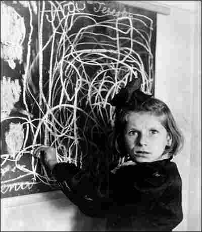 'Terezka, a Child in a Center for Disturbed Children, Produced These Scrawls as a Picture of Home'