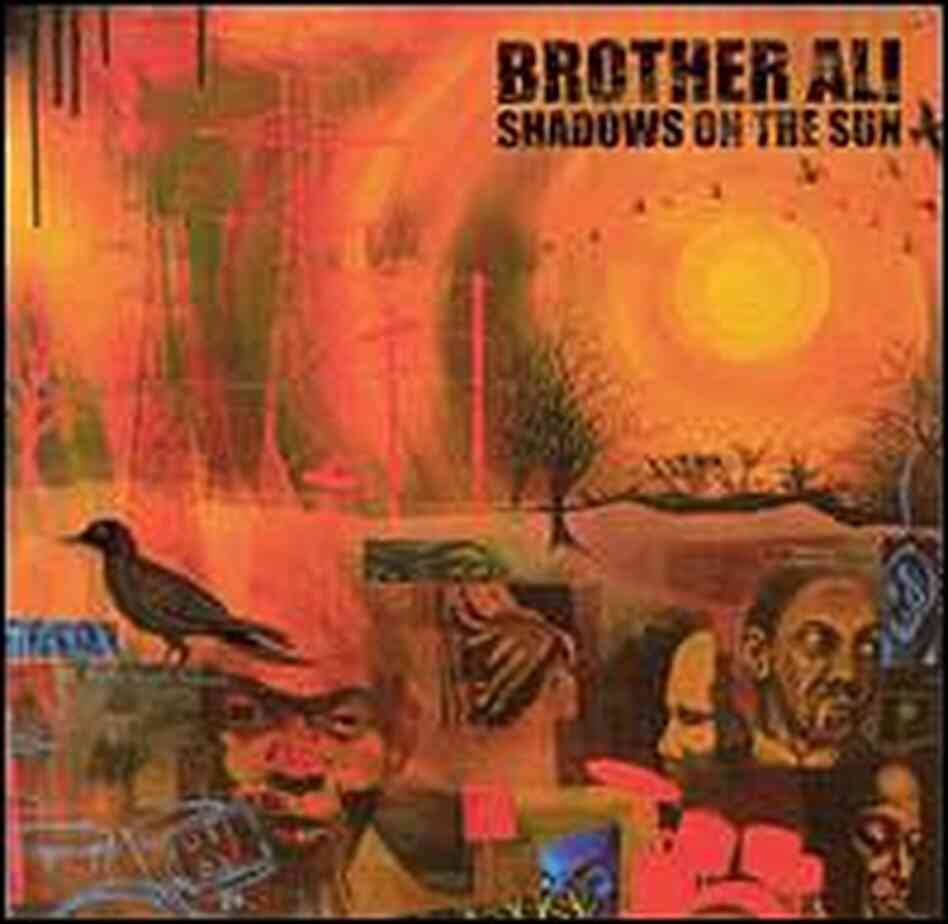 Cover for Brother Ali CD 'Shadows on the Sun'